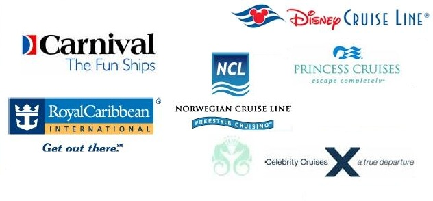 Cruises Disney Vacation Package Walt Disney World Travel To Orlando - Cruise ship logos